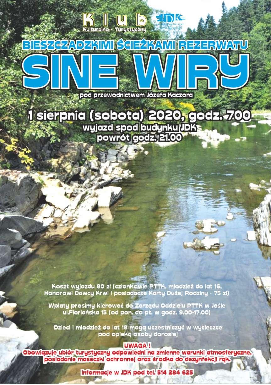 Bieszczadzkimi ścieżkami rezerwatu Sine Wiry