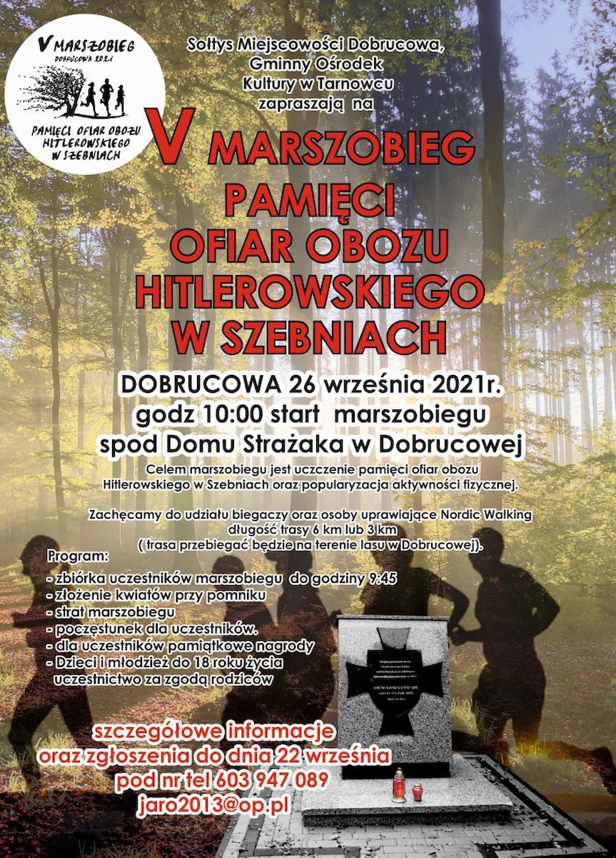 V Marszobieg Pamięci Ofiar Obozu Hitlerowskiego w Szebniach