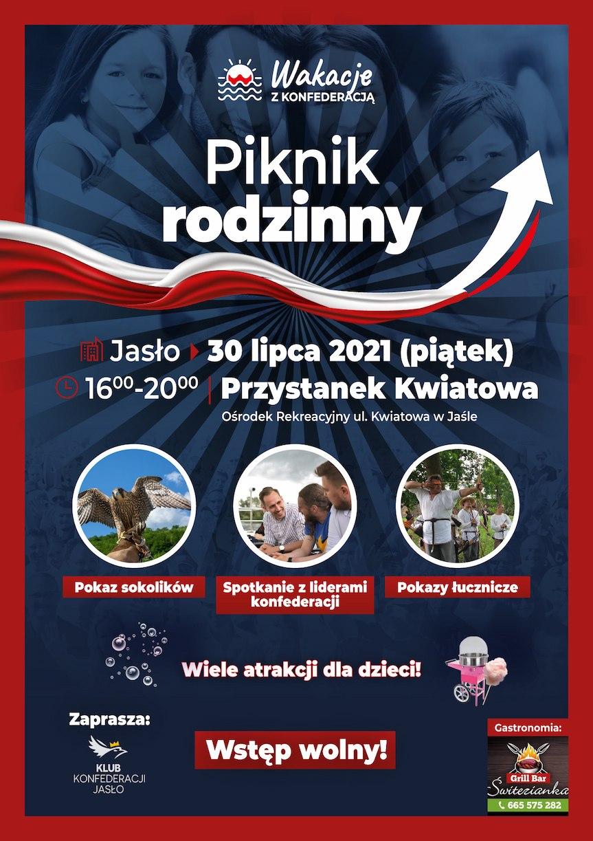 Piknik Rodzinny - Wakacje z Konfederacją w Jaśle