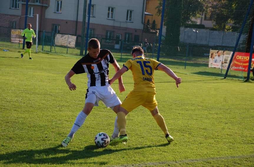 IV liga podkarpacka. Mecz Czarni Jasło - Ekoball Stal Sanok 2-0