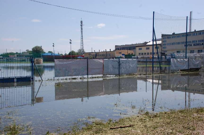 Krajobraz po kataklizmie w Jaśle