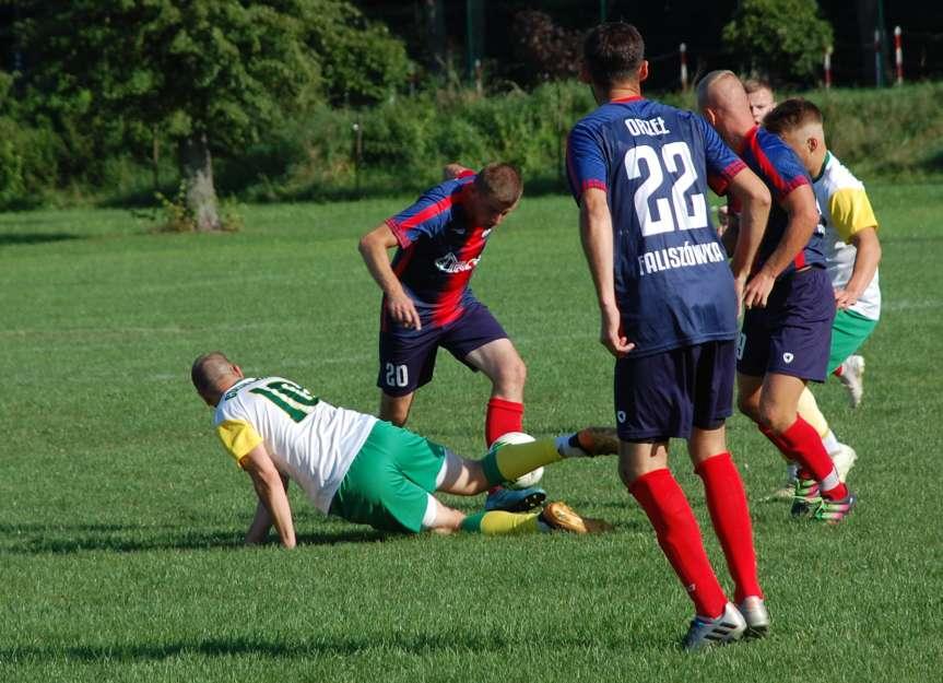 Piłka nożna. V liga krośnieńska. Mecz LKS Czeluśnica - Orzeł Faliszówka 0-0