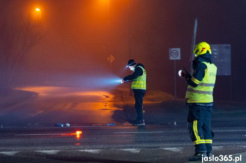 Śmiertelny wypadek w Jaśle