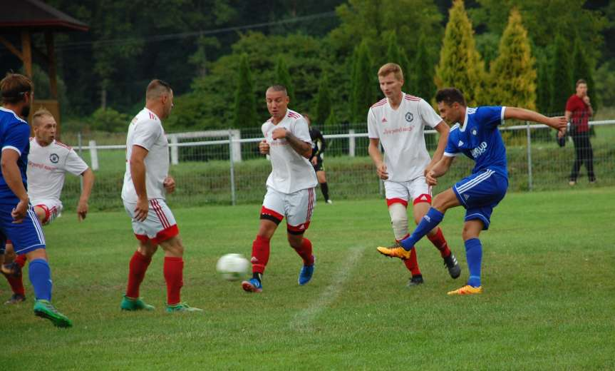 V liga krośnieńska. Mecz Ostoja Kołaczyce - Tempo Nienaszów 4-5
