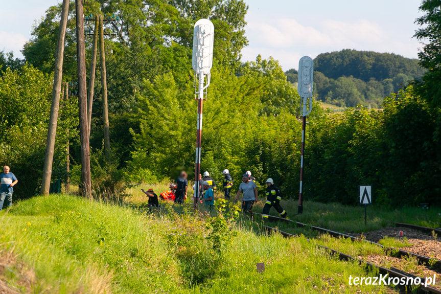 Wypadek na torach we Wróbliku Szlacheckim