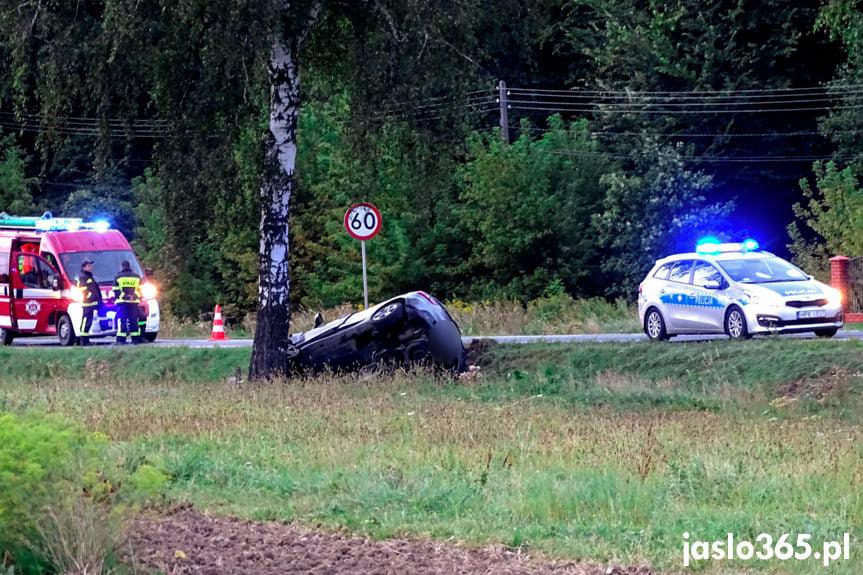 Wypadek w Krajowicach