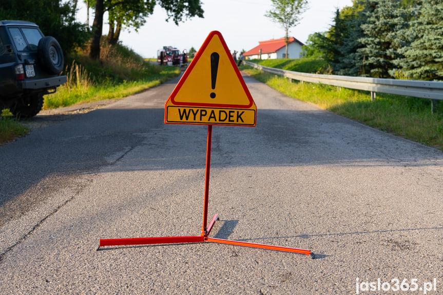 Wypadek w Łajscach