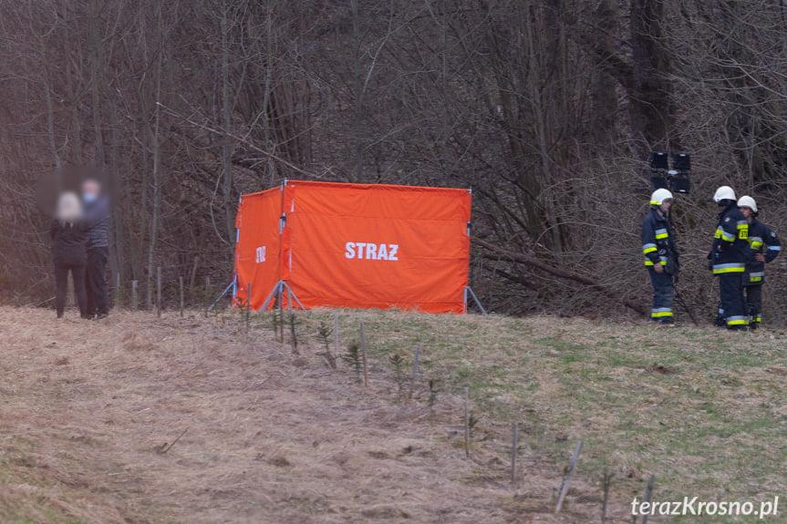 Wypadek w Szklarach